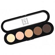 Отзывы Палитра теней, 5 цветов Make-Up Atelier Paris T22 натуральные коричневые тона