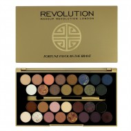Палетка теней Makeup Revolution 30 Eyeshadow Palette Fortune Favours The Brave: фото