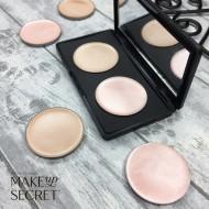 Кремовые румяна в рефилах Make up Secret (Cream Highlighter) CH02 Холодный жемчужно-розовый: фото