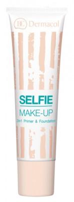 База под макияж и тональный крем 2 в 1 Dermacol Selfie Make-Up тон 1: фото