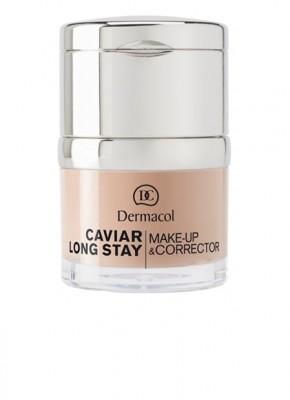 Стойкий тональный крем Dermacol Caviar Make-up тон 3: фото