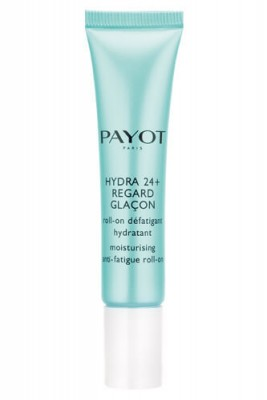 Увлажняющий гель с роликовым аппликатором для снятия усталости кожи вокруг глаз Payot Hydra 24+ 15 мл: фото