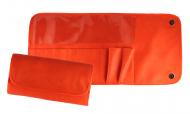 Футляр для 12 кистей ВАЛЕРИ-Д иск. кожа оранжевый: фото