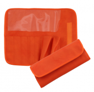 Футляр для 7 кистей ВАЛЕРИ-Д иск. кожа оранжевый: фото