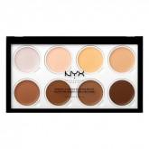 Палетка для скульптурирования лица NYX Professional Makeup Highlight & Contour Cream Pro Palette