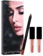 Набор для губ Huda Beauty Lip Contour Set TRENDSETTER & BOMBSHELL: фото