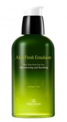 Эмульсия увлажняющая с алоэ THE SKIN HOUSE Aloe fresh emulsion 130мл: фото
