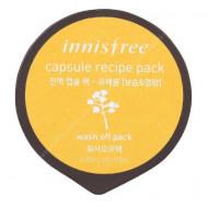Маска капсульная для лица с экстрактом рапсового меда INNISFREE Сapsule Recipe Pack Canola Honey: фото