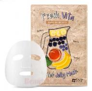Маска для лица SNP Fresh vita water jelly mask 25 мл: фото