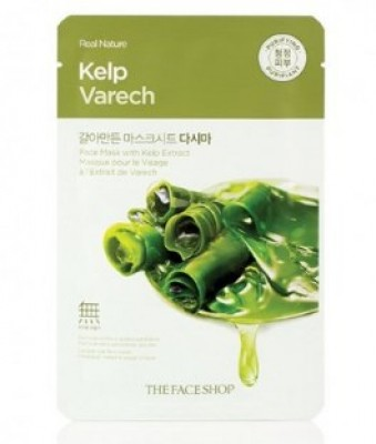 Маска с экстрактом водорослей THE FACE SHOP Real nature mask sheet kelp 20г: фото