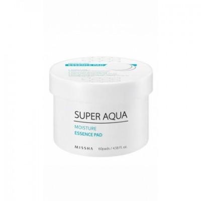 Увлажняющие подушечки для лица MISSHA Super Aqua Moisture Essence Pad: фото