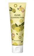 Отзывы Пенка для умывания с экстрактом оливы SEANTREE Olive cleansing foam 120мл