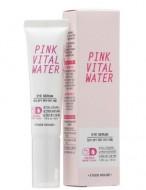 Сыворотка для кожи вокруг глаз с экстрактом персика ETUDE HOUSE Pink Vital Water Eye Serum: фото
