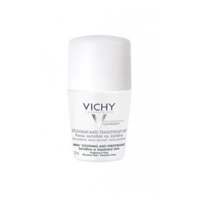 Дезодорант-шарик 48ч для чувствительной кожи VICHY 50мл: фото