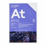 Маска для лица MISSHA Phytochemical Skin Supplement Sheet Mask (Anthocyanin/Lifting): фото