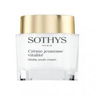 Крем ревитализирующий для сияния и идеального рельефа кожи Sothys Vitality Youth Cream 50мл: фото
