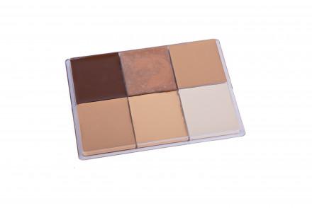Тон компактный Maq Pro Fard Creme 6 цветов 55 мл: фото