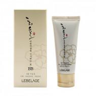 BB-крем с муцином улитки SPF 50+/PA+++ Lebelage Heeyul Premium Snail BB: фото