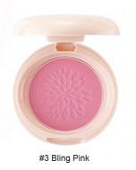 Румяна стойкие мерцающие Saemmul Smile Bebe Blusher 03 Bling Pink(N) 6гр