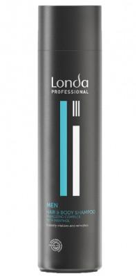 Шампунь для волос и тела Londa Professional Men Hair Body 250мл: фото
