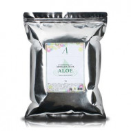 Маска альгинатная с экстрактом алоэ успокаивающая (пакет) Anskin Aloe Modeling Mask / Refill 1кг: фото
