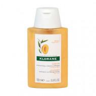 Шампунь с маслом Манго для сухих, поврежденных волос Klorane, Dry Hair 100 мл: фото