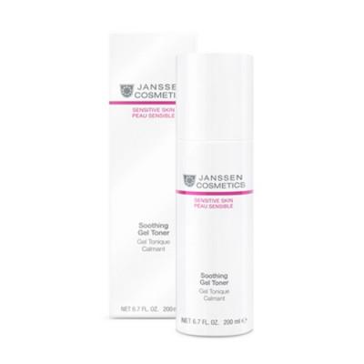 Тоник успокающий для чуствительной кожи Janssen Cosmetics Soothing Gel Toner 200 мл: фото