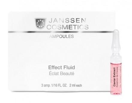 Концентрат ампульный Экстракт икры Janssen Cosmetics Caviar Extract 3*2 мл: фото