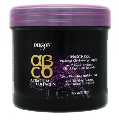 Маска для волос Продление молодости Dikson ARGABETA COLLAGEN HAIR MASKA 500мл: фото