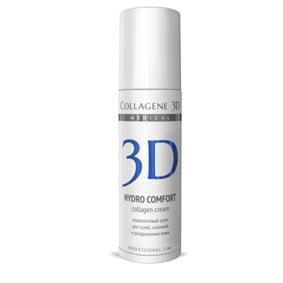 Крем для раздраженной и сухой кожи Collagene 3D HYDRO COMFORT 30 мл: фото
