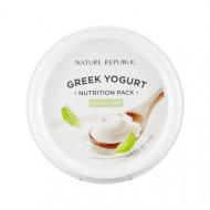 Маска йогуртовая питательная NATURE REPUBLIC GREEK YOGURT PACK_PLAIN (NUTRITION) 130мл: фото