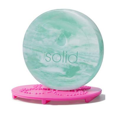 Мыло для очищения спонжей beautyblender blendercleanser chill swirl мятный 30г: фото