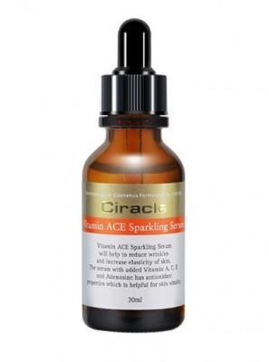 Сыворотка для лица антивозрастная Ciracle Vitamin ACE Sparkling Serum 30мл: фото