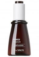 Эссенция ампульная антивозрастная THE SAEM POWER AMPOULE Anti-Wrinkle 35мл: фото