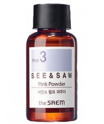 Точечное средство против угрей THE SAEM SEE&SAW Pink Powder 16мл: фото