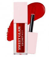 Тинт для губ вельветовый SECRET KEY Sweet Glam Velvet Tint 05 Deep Cherry 5г: фото