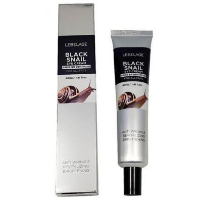 Крем вокруг глаз с муцином черной улитки LEBELAGE Black Snail Eye Cream 40мл: фото