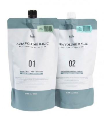 Стайлинг программа для поврежденных волос La'dor Aura Volume Magic Damaged: фото
