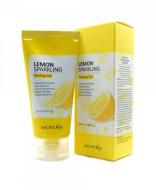 Гель-пилинг с экстрактом лимона SECRET KEY Lemon Sparkling Peeling Gel 120мл: фото