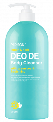 Гель для душа ЛИМОН и МЯТА EVAS Pedison DEO DE Body Cleanser 750 мл: фото