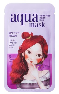 Маска тканевая питательная FASCY WAVE Tina Aqua Mask 26г: фото