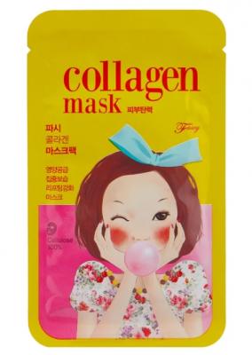 Маска тканевая коллагеновая питательная FASCY PUNGSEON Tina Collagen Mask 26г: фото