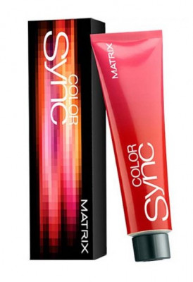 Краска для волос без аммиака Matrix Color Sync Watercolors Серебристый серый 90 мл: фото