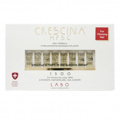 Лосьон для стимуляции роста волос для мужчин Crescina Hfsc 100% 1300 №40: фото