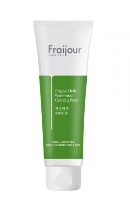 Пенка для умывания EVAS Fraijour Original Herb Wormwood Cleansing Foam 150 мл: фото