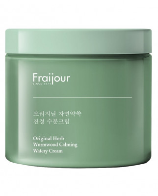 Крем с экстрактом полыни EVAS Fraijour Original Herb Wormwood Calming Watery Cream 100 мл: фото