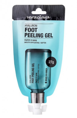 Пилинг-гель для ног с гиалуроновой кислотой Veraclara Hyaluron Foot Peeling Gel 27г: фото
