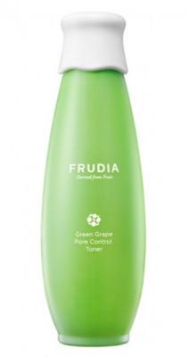 Тонер себорегулирующий с виноградом Frudia Green Grape Pore Control Toner 195 мл: фото