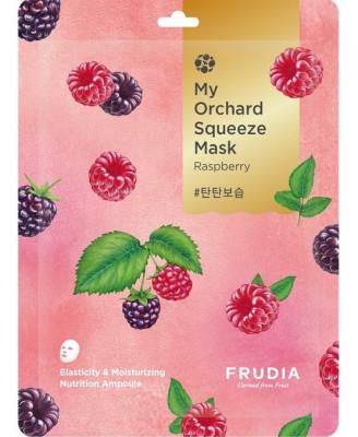 Тканевая маска с малиной Frudia My Orchard Squeeze Mask Raspberry 20 мл: фото
