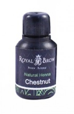Хна для бровей Royal Brow Chestnut, Каштан 15мл: фото